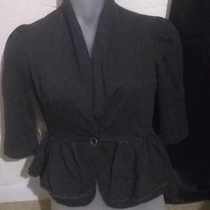 Cynthia Rowley Grey Cardigan Size S
